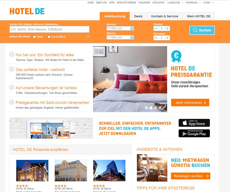 Hotel.de Gutscheincodes